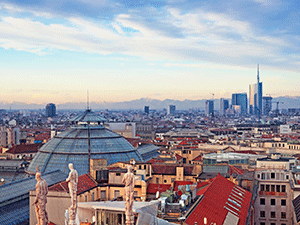 Жизнь в Милане