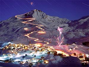 Зима в Швейцарии