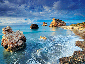 Море осенью
