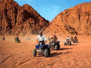 Отдых в пустыне