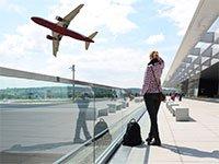 Вылет самолета из аэропорта