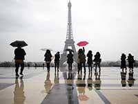 Во Франции ограбили группу китайских туристов