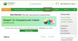 Справка через приложение Сбербанк-онлайн шаг 4