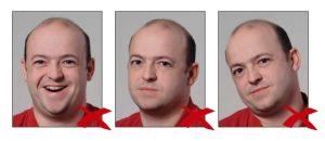 Фотографии, сделанные с нарушением требований 6