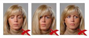 Фотографии, сделанные с нарушением требований 7