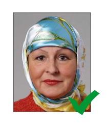 Образец 4 фото на шенген