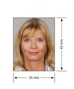 Образец 1 фото на шенген