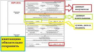 Квитанция на оплату госпошлины на гражданства РФ